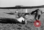 Image of French midget aircraft Paris France, 1935, second 22 stock footage video 65675072935