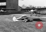 Image of French midget aircraft Paris France, 1935, second 28 stock footage video 65675072935