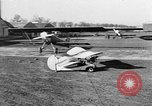 Image of French midget aircraft Paris France, 1935, second 29 stock footage video 65675072935