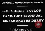 Image of Silver Skates Derby Manhattan New York City USA, 1931, second 9 stock footage video 65675072974