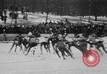 Image of Silver Skates Derby Manhattan New York City USA, 1931, second 19 stock footage video 65675072974