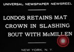 Image of wrestling match New York United States USA, 1931, second 9 stock footage video 65675072976