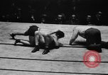 Image of wrestling match New York United States USA, 1931, second 38 stock footage video 65675072976