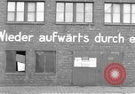 Image of Soldiers of the U.S. 4th Cavalry Regiment enter Erftwerk factory  Grevenbroich Germany, 1945, second 14 stock footage video 65675072983