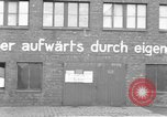 Image of Soldiers of the U.S. 4th Cavalry Regiment enter Erftwerk factory  Grevenbroich Germany, 1945, second 16 stock footage video 65675072983