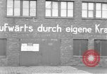 Image of Soldiers of the U.S. 4th Cavalry Regiment enter Erftwerk factory  Grevenbroich Germany, 1945, second 18 stock footage video 65675072983