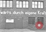 Image of Soldiers of the U.S. 4th Cavalry Regiment enter Erftwerk factory  Grevenbroich Germany, 1945, second 19 stock footage video 65675072983