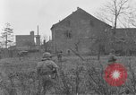 Image of U.S. Army 4th Cavalry troops enter Erftwerk factory  Grevenbroich Germany, 1945, second 4 stock footage video 65675072984
