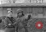 Image of U.S. Army 4th Cavalry troops enter Erftwerk factory  Grevenbroich Germany, 1945, second 21 stock footage video 65675072984