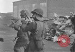 Image of U.S. Army 4th Cavalry troops enter Erftwerk factory  Grevenbroich Germany, 1945, second 41 stock footage video 65675072984