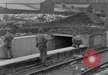 Image of U.S. Army 4th Cavalry troops enter Erftwerk factory  Grevenbroich Germany, 1945, second 51 stock footage video 65675072984