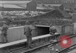 Image of U.S. Army 4th Cavalry troops enter Erftwerk factory  Grevenbroich Germany, 1945, second 52 stock footage video 65675072984