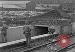 Image of U.S. Army 4th Cavalry troops enter Erftwerk factory  Grevenbroich Germany, 1945, second 53 stock footage video 65675072984