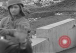 Image of U.S. Army 4th Cavalry troops enter Erftwerk factory  Grevenbroich Germany, 1945, second 57 stock footage video 65675072984
