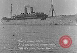 Image of troops march past France, 1918, second 6 stock footage video 65675072990
