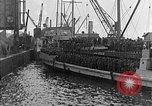 Image of troops march past France, 1918, second 33 stock footage video 65675072990