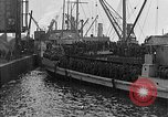 Image of troops march past France, 1918, second 37 stock footage video 65675072990