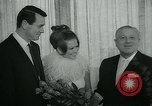 Image of press reception New York United States USA, 1965, second 22 stock footage video 65675073018