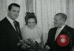 Image of press reception New York United States USA, 1965, second 23 stock footage video 65675073018