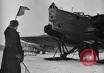 Image of Russian aviators depart Moscow in flight to North Pole Moscow Russia Soviet Union, 1937, second 35 stock footage video 65675073020