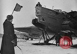 Image of Russian aviators depart Moscow in flight to North Pole Moscow Russia Soviet Union, 1937, second 36 stock footage video 65675073020