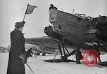 Image of Russian aviators depart Moscow in flight to North Pole Moscow Russia Soviet Union, 1937, second 37 stock footage video 65675073020