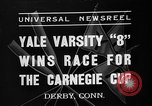 Image of Carnegie crew race Derby Connecticut USA, 1937, second 1 stock footage video 65675073025