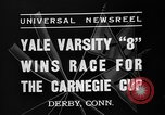 Image of Carnegie crew race Derby Connecticut USA, 1937, second 2 stock footage video 65675073025