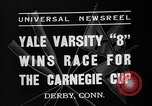Image of Carnegie crew race Derby Connecticut USA, 1937, second 5 stock footage video 65675073025
