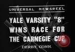 Image of Carnegie crew race Derby Connecticut USA, 1937, second 7 stock footage video 65675073025