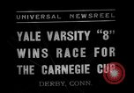 Image of Carnegie crew race Derby Connecticut USA, 1937, second 12 stock footage video 65675073025