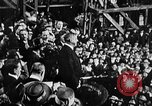 Image of ship launching Kearny New Jersey USA, 1918, second 2 stock footage video 65675073064