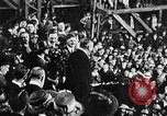 Image of ship launching Kearny New Jersey USA, 1918, second 3 stock footage video 65675073064