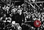 Image of ship launching Kearny New Jersey USA, 1918, second 4 stock footage video 65675073064
