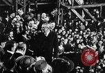 Image of ship launching Kearny New Jersey USA, 1918, second 5 stock footage video 65675073064