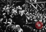 Image of ship launching Kearny New Jersey USA, 1918, second 6 stock footage video 65675073064