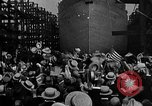 Image of ship launching Kearny New Jersey USA, 1918, second 28 stock footage video 65675073064