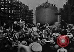 Image of ship launching Kearny New Jersey USA, 1918, second 35 stock footage video 65675073064
