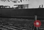 Image of ship launching United States USA, 1918, second 22 stock footage video 65675073069