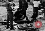 Image of Laotian soldiers Thakhet Laos, 1964, second 15 stock footage video 65675073075