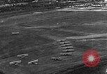 Image of B-6A bombers and O-1D pursuit planes at Mitchel Field Hempstead New York USA, 1937, second 33 stock footage video 65675073088