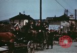 Image of German troops return home at end of World War 2 Germany, 1945, second 19 stock footage video 65675073095