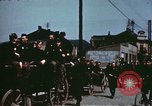 Image of German troops return home at end of World War 2 Germany, 1945, second 21 stock footage video 65675073095