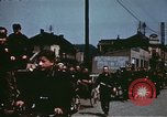 Image of German troops return home at end of World War 2 Germany, 1945, second 23 stock footage video 65675073095