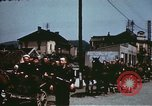 Image of German troops return home at end of World War 2 Germany, 1945, second 25 stock footage video 65675073095