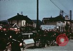 Image of German troops return home at end of World War 2 Germany, 1945, second 26 stock footage video 65675073095