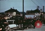 Image of German troops return home at end of World War 2 Germany, 1945, second 27 stock footage video 65675073095