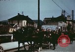 Image of German troops return home at end of World War 2 Germany, 1945, second 28 stock footage video 65675073095