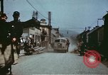 Image of German troops return home at end of World War 2 Germany, 1945, second 34 stock footage video 65675073095