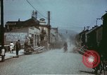 Image of German troops return home at end of World War 2 Germany, 1945, second 40 stock footage video 65675073095